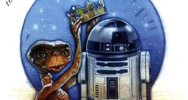《E.T. 外星人》與《星戰》的祝賀圖