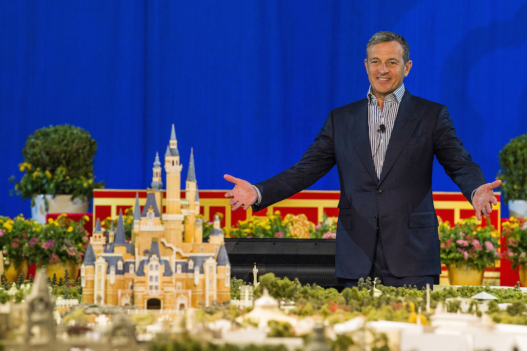 Disney Chairman and CEO Bob Iger revealed a scale model of Shanghai Disneyland and displays showcasing key highlights of unique attractions, entertainment, dining and hotels at a presentation held at the Shanghai Expo Centre. (PRNewsFoto/The Walt Disney Company) THIS CONTENT IS PROVIDED BY PRNewsfoto and is for EDITORIAL USE ONLY**
