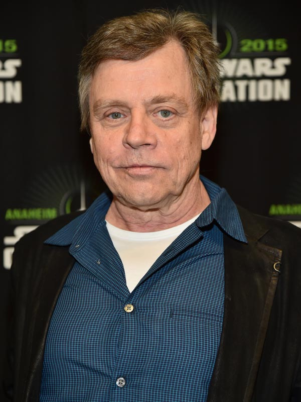 ANAHEIM, CA - APRIL 16:  Actor Actor Mark Hamill attends Star Wars Celebration 2015 on April 16, 2015 in Anaheim, California.  (Photo by Alberto E. Rodriguez/Getty Images for Disney)