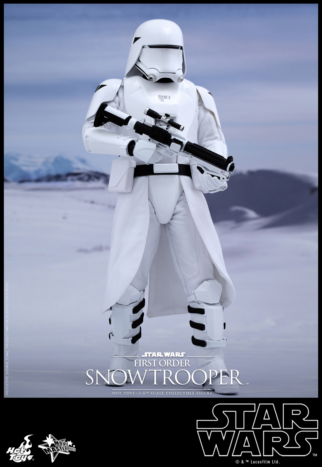 Hot Toys - Star Wars - The Force Awakens - First Order Snowtrooper Collectible Figure_PR1