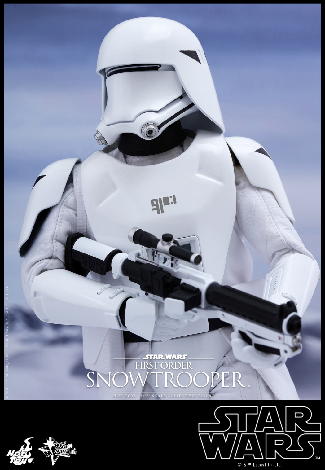 Hot Toys - Star Wars - The Force Awakens - First Order Snowtrooper Collectible Figure_PR11