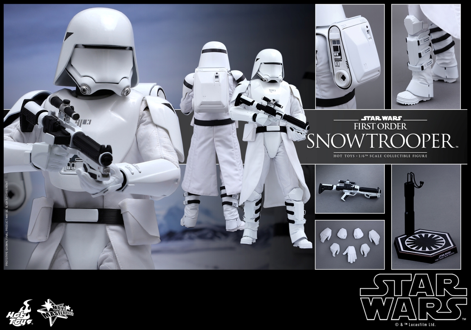 Hot Toys - Star Wars - The Force Awakens - First Order Snowtrooper Collectible Figure_PR13