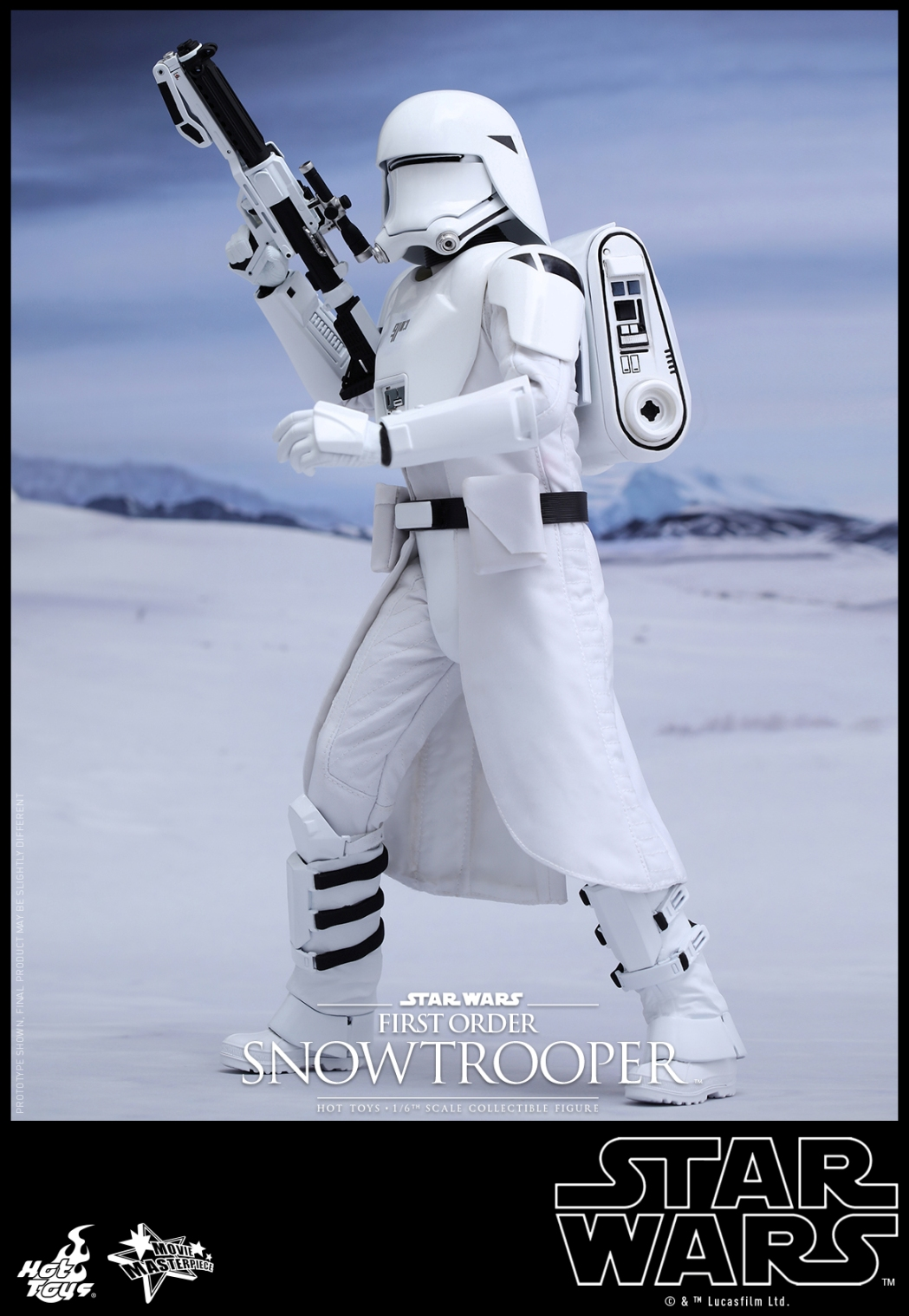 Hot Toys - Star Wars - The Force Awakens - First Order Snowtrooper Collectible Figure_PR2