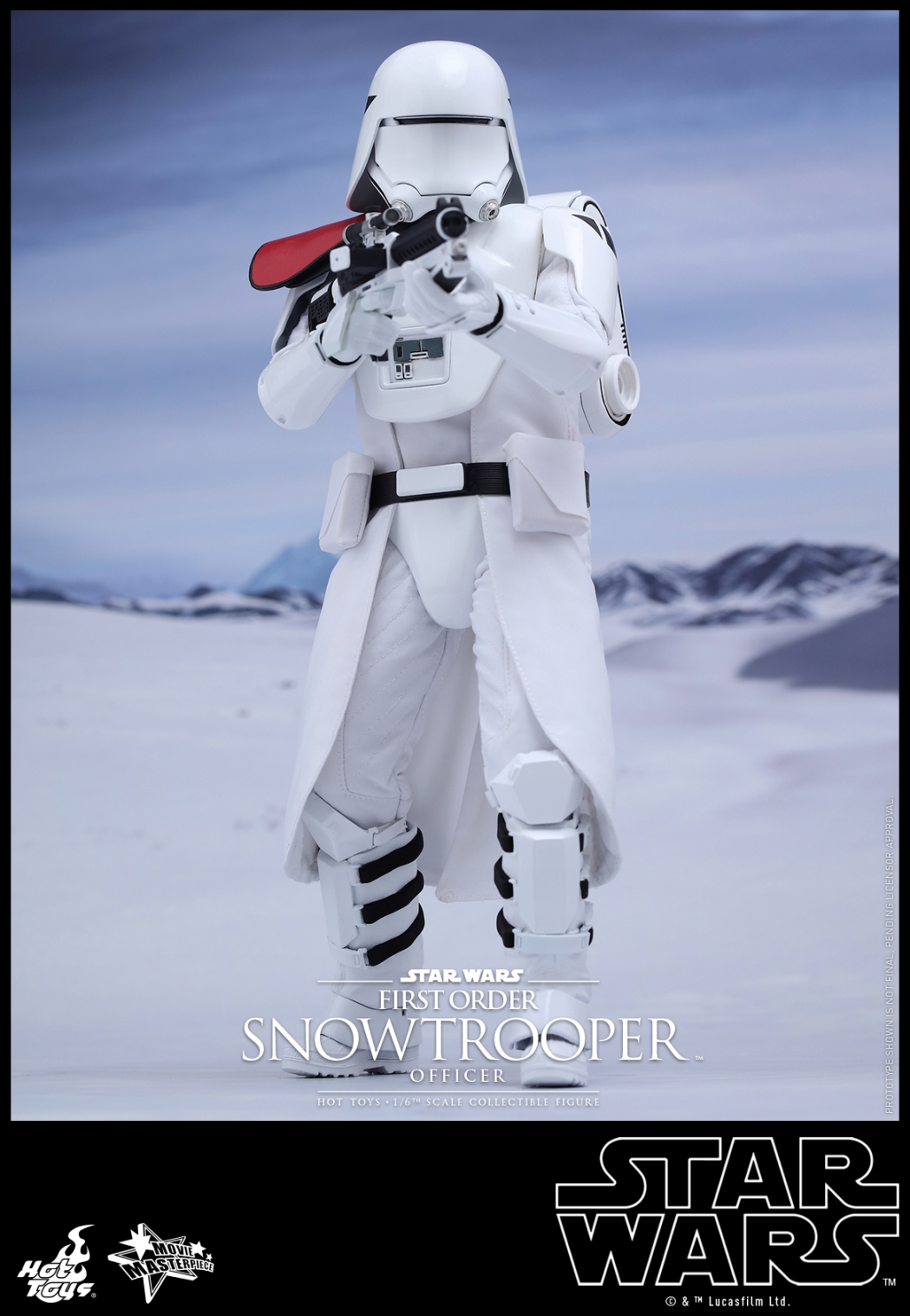 Hot Toys - Star Wars - The Force Awakens - The First Order Snowtrooper Officer Collectible Figure_PR1