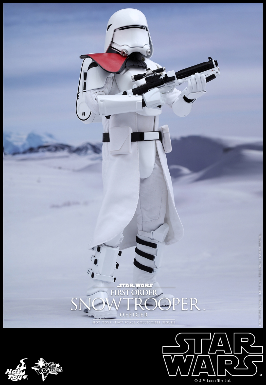 Hot Toys - Star Wars - The Force Awakens - The First Order Snowtrooper Officer Collectible Figure_PR2