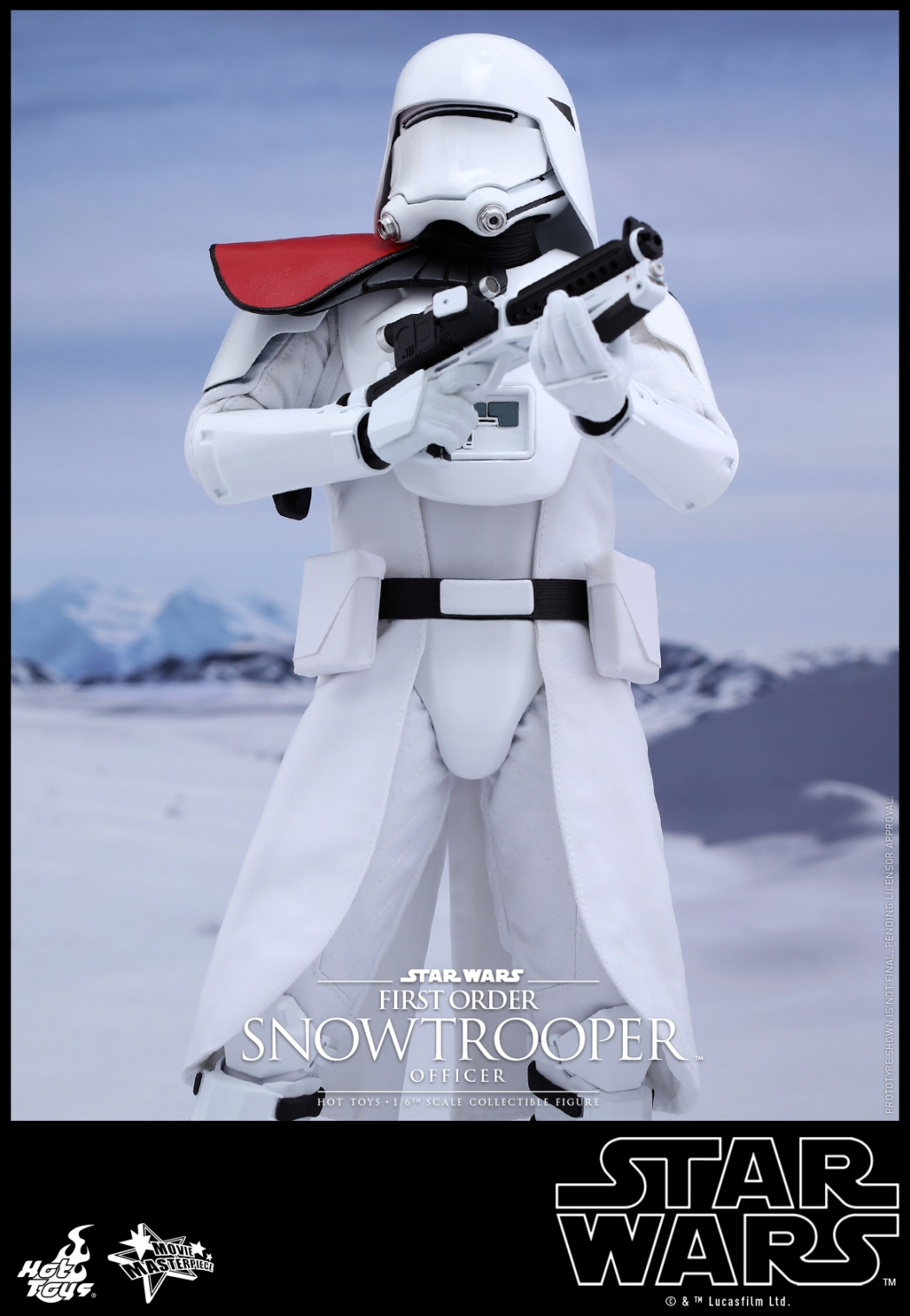 Hot Toys - Star Wars - The Force Awakens - The First Order Snowtrooper Officer Collectible Figure_PR3