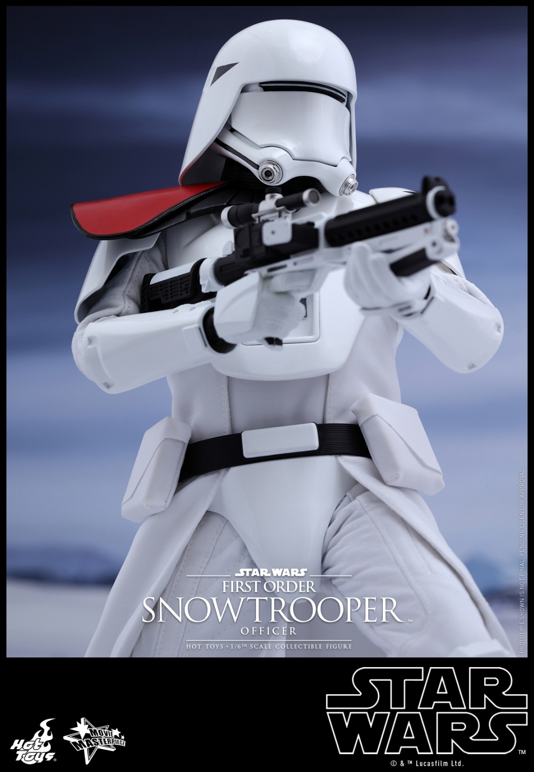 Hot Toys - Star Wars - The Force Awakens - The First Order Snowtrooper Officer Collectible Figure_PR4