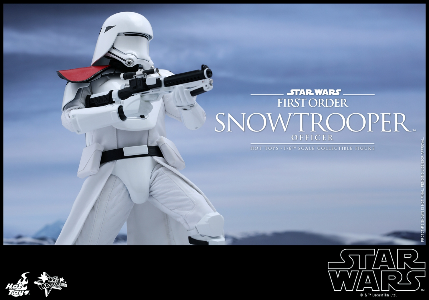 Hot Toys - Star Wars - The Force Awakens - The First Order Snowtrooper Officer Collectible Figure_PR5