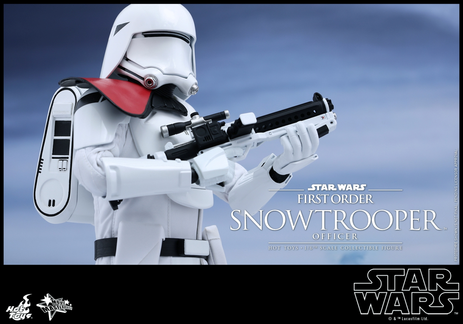 Hot Toys - Star Wars - The Force Awakens - The First Order Snowtrooper Officer Collectible Figure_PR6