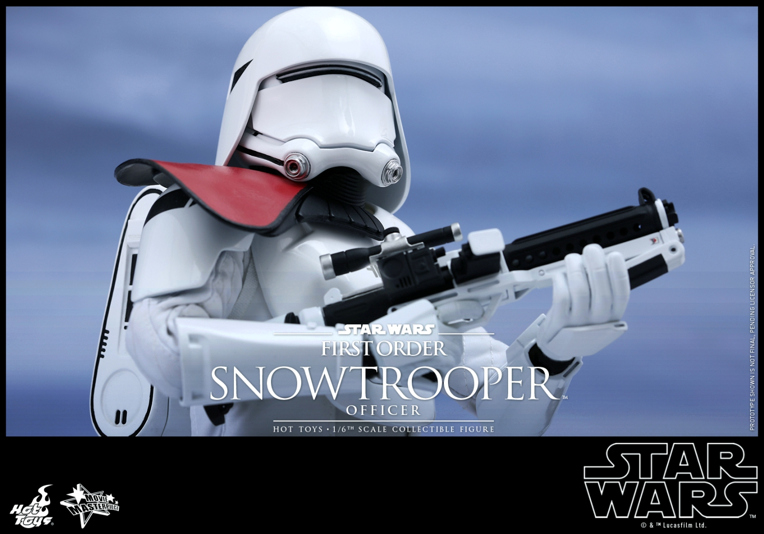 Hot Toys - Star Wars - The Force Awakens - The First Order Snowtrooper Officer Collectible Figure_PR7