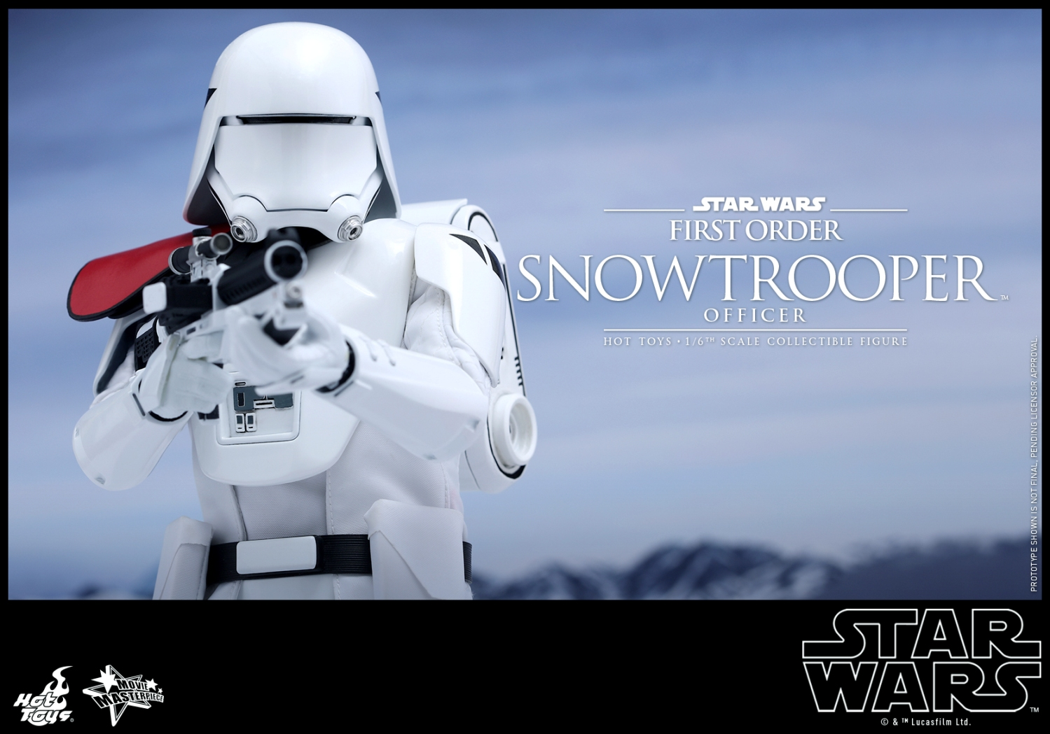 Hot Toys - Star Wars - The Force Awakens - The First Order Snowtrooper Officer Collectible Figure_PR8