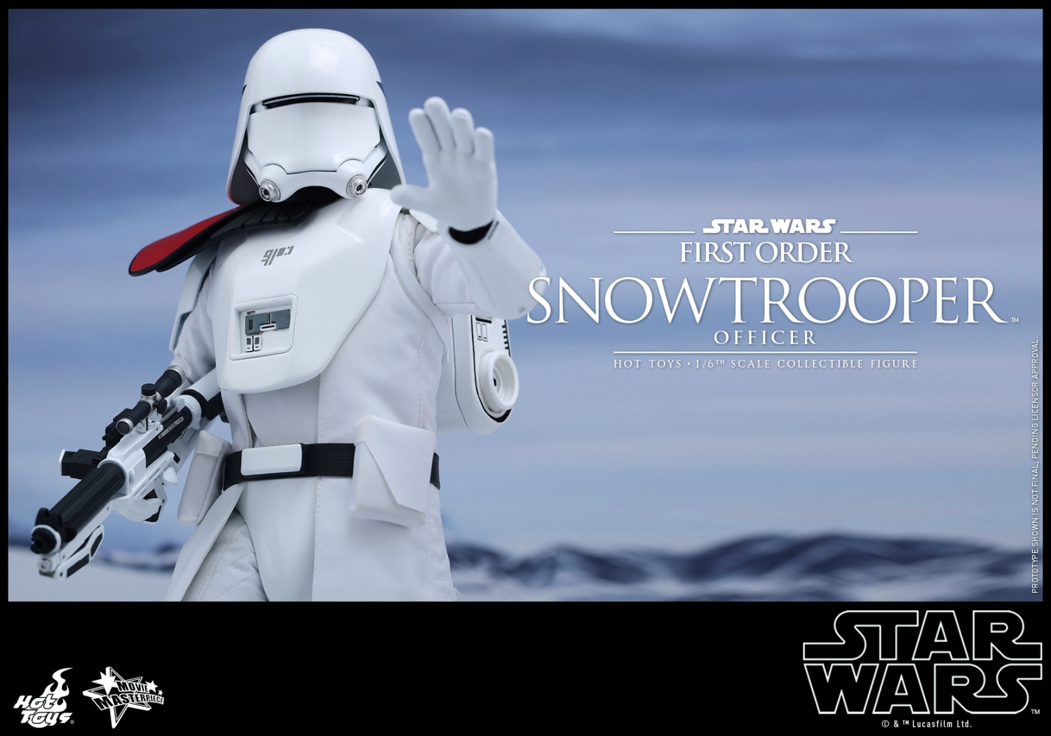 Hot Toys - Star Wars - The Force Awakens - The First Order Snowtrooper Officer Collectible Figure_PR9