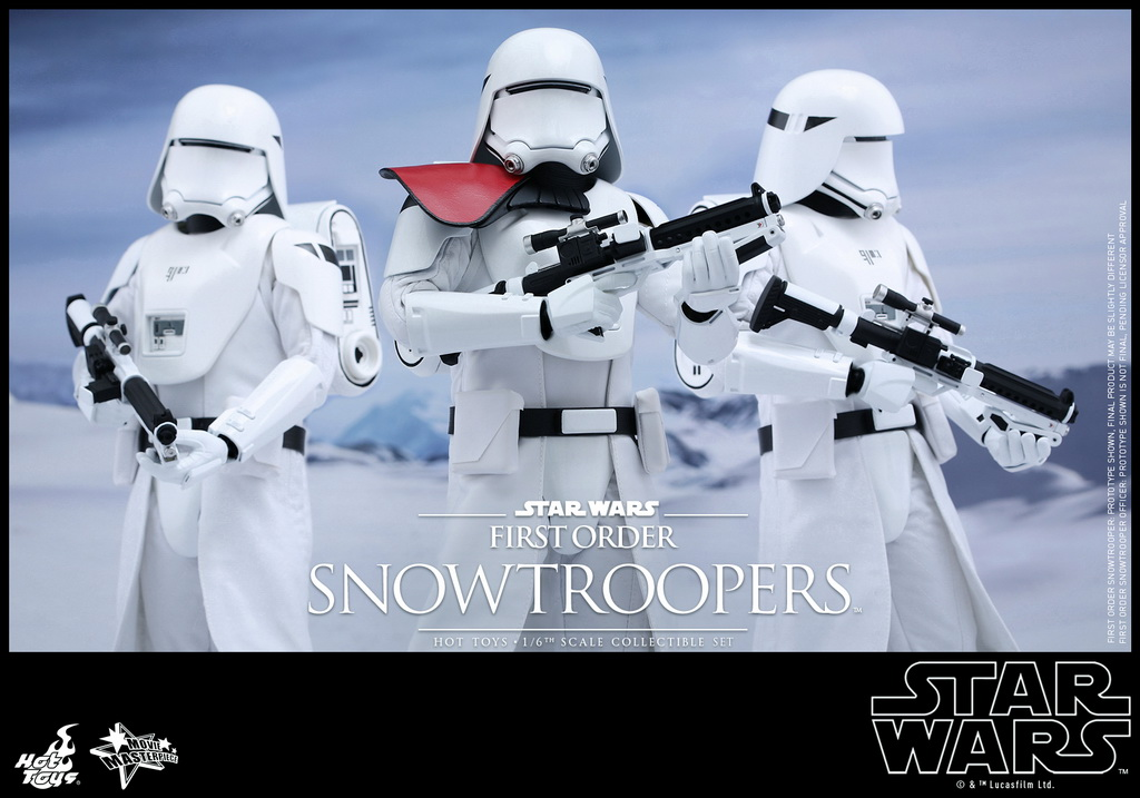 Hot Toys - Star Wars - The Force Awakens - The First Order Snowtroopers Collectible Set_PR1