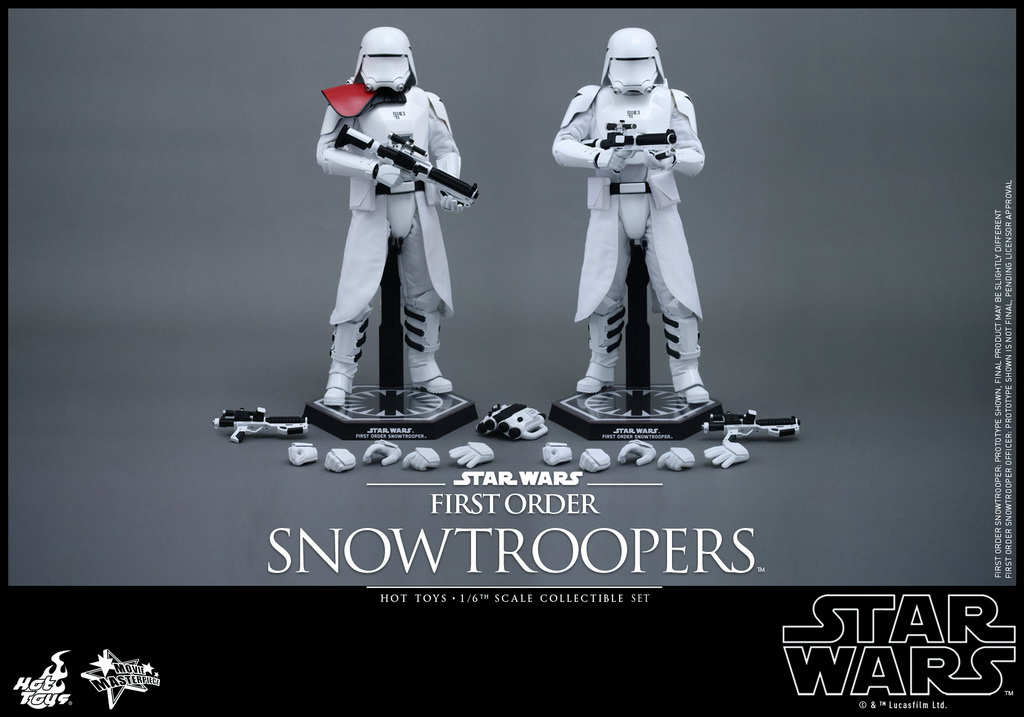 Hot Toys - Star Wars - The Force Awakens - The First Order Snowtroopers Collectible Set_PR2