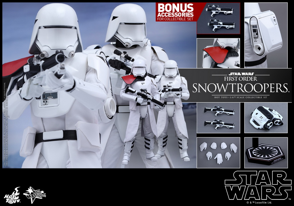 Hot Toys - Star Wars - The Force Awakens - The First Order Snowtroopers Collectible Set_PR3