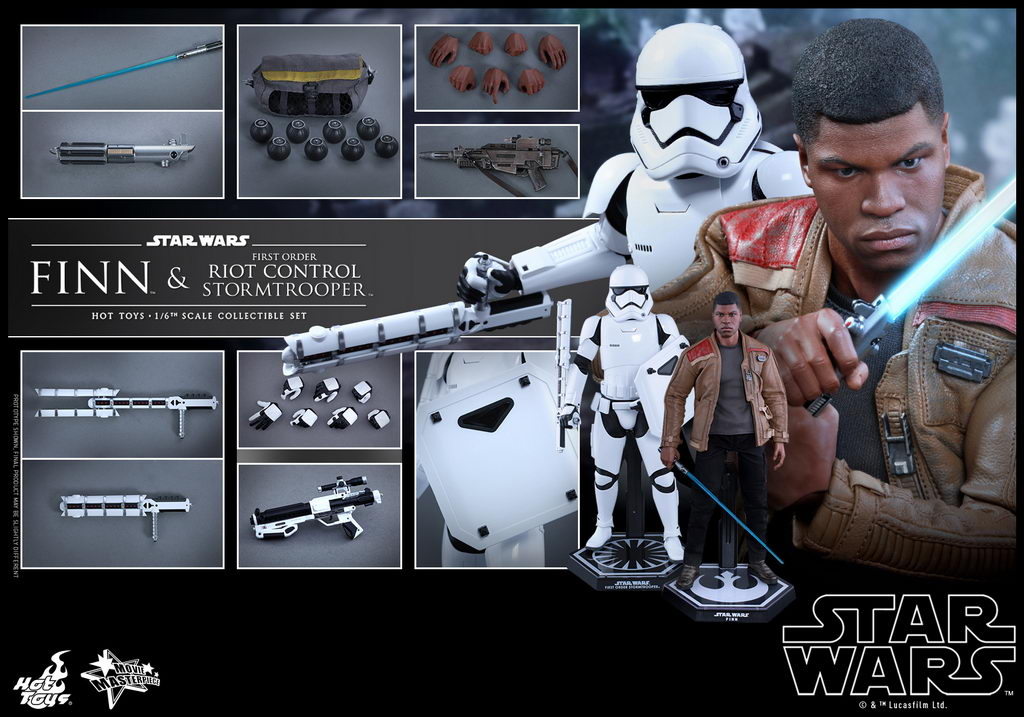 Hot Toys - SWTFA - Finn & First Order Riot Control Stormtrooper Collectible Set_PR14_resize