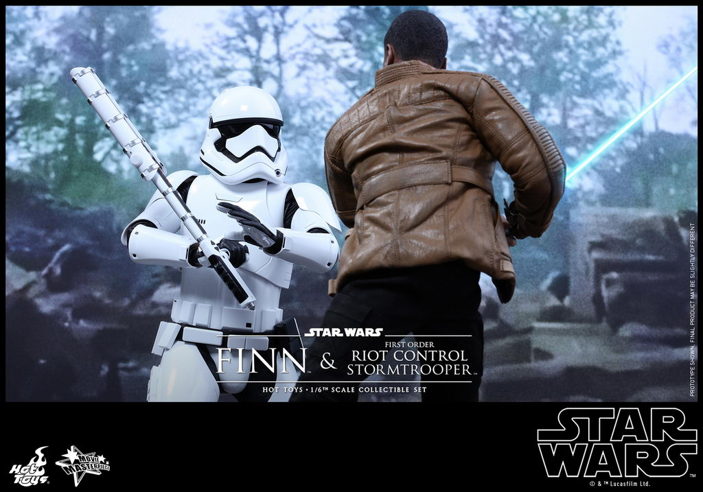 Hot Toys - SWTFA - Finn & First Order Riot Control Stormtrooper Collectible Set_PR6_resize