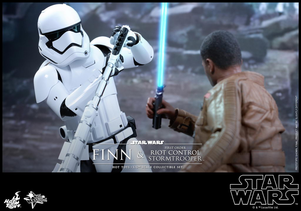 Hot Toys - SWTFA - Finn & First Order Riot Control Stormtrooper Collectible Set_PR7_resize