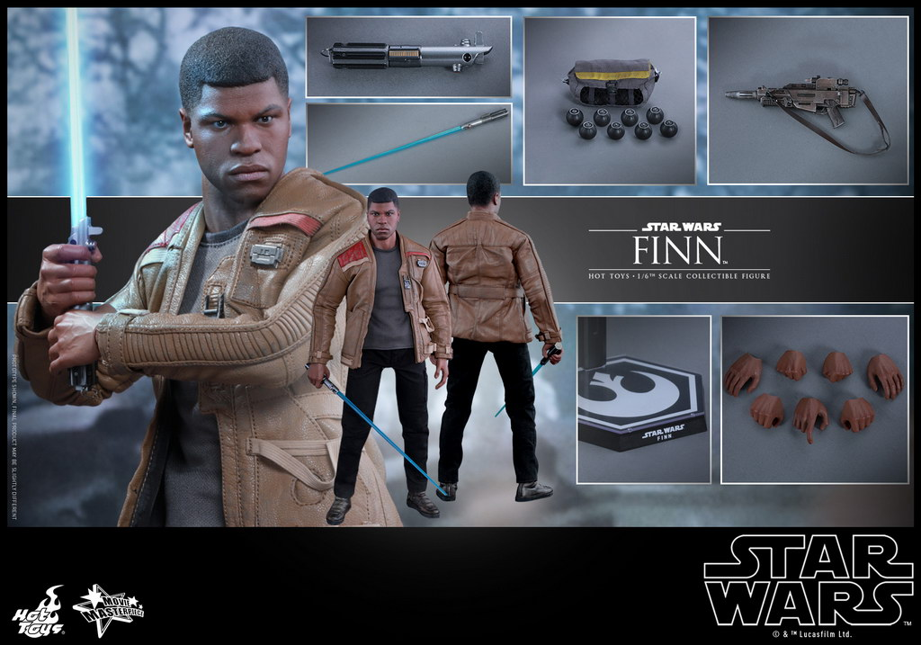 Hot Toys - Star Wars - The Force Awakens - Finn collectible figure_PR11_resize