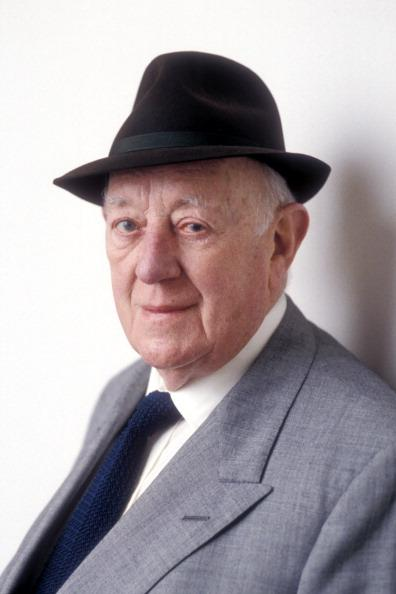 Sir Alec Guinness on the Radio 4 programme 'My Name Escapes Me : Sir Alec Guinnes', Sept 1996.. (Photo by Jeff Overs/BBC News & Current Affairs via Getty Images)