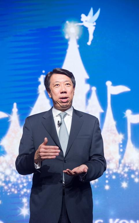 Hong Kong Disneyland_Standard Chartered Bank_Corporate Alliance Ceremony_Benjaman Hung