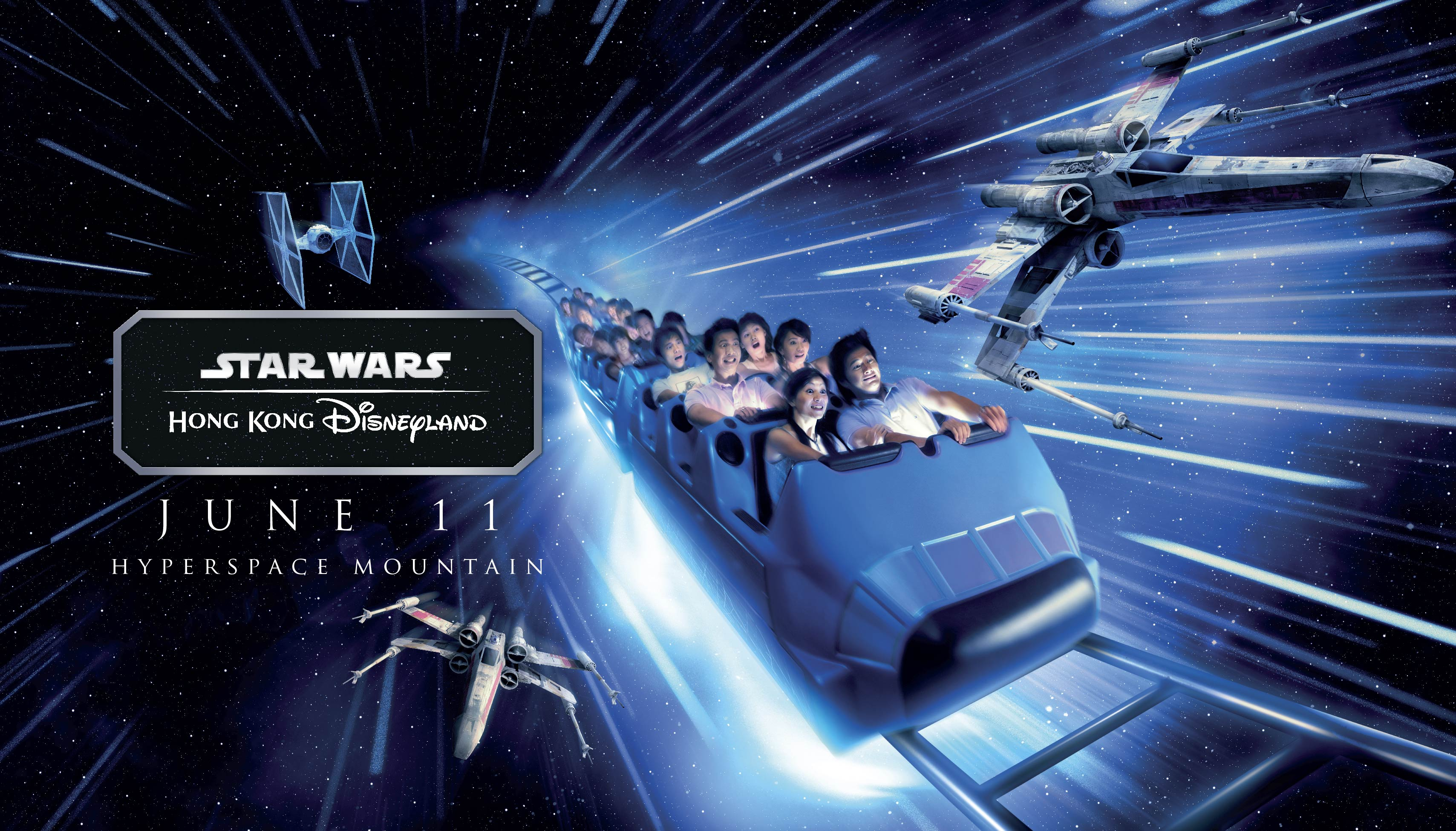 Hong Kong Disneyland_Star Wars Tomorrowland Takeover_Hyperspace Mountain