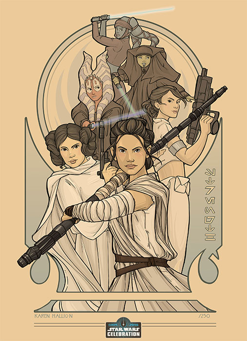 201607_Star Wars Celebration Europe Art  (16)