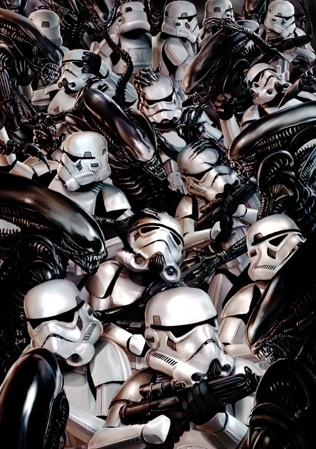 201607_stormtroopers_vs_aliens_by_rhymesyndicate-d5p5qw5