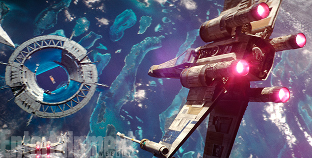 Rogue One: A Star Wars Story (2016) X-Wing CR: ILM/© Lucasfilm LFL 2016