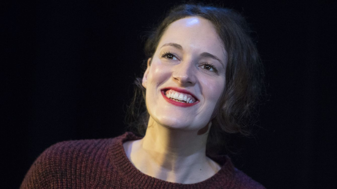 Editorial Use Only. No Merchandising Mandatory Credit: Photo by Alastair Muir/REX/Shutterstock (7549063c) Phoebe Waller-Bridge 'Fleabag' performed by Phoebe Waller-Bridge at the Soho Theatre, London, UK, 06 Dec 2016