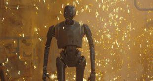 K-2SO在電影Rogue One早期的劇本有另一個結局