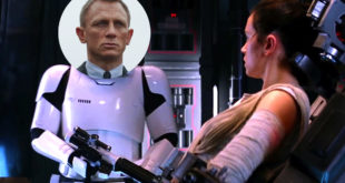 (中文(繁體)) Daniel Craig 親口證實電影 EP VII 中的「神秘白兵」是他本人飾演