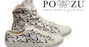 (中文(繁體)) Po-Zu – 以 Porg 為主題的帆布鞋