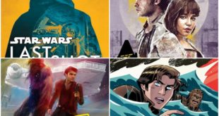 即將推出 23本相關電影《Solo》的書籍及相關介紹
