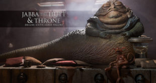 Sideshow Collectibles – 電影 EP VI Jabba the Hutt and Throne 1/6 比例豪華套組