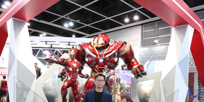 (中文(繁體)) 專訪 Hot Toys 總裁陳浩斌先生──於 ACGHK 2018 的簡短訪問