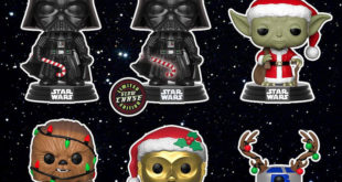 (中文(繁體)) Funko Pop! Star Wars【聖誕佳節!】Holiday!