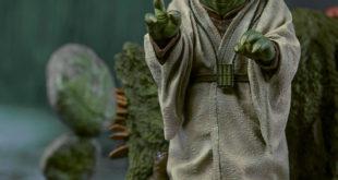 Iron Studios Legacy Replica 系列 – EP V Yoda 1/4 比例全身场景雕像作品
