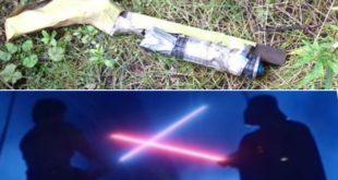 激光劍玩具當炸彈 拆彈專家忙足2個鐘