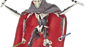Hasbro – EP III Black Series, General Grievous 6吋人偶