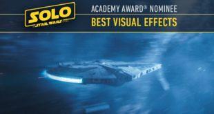 外传电影《Solo》获第91届奥斯卡最佳视觉特效提名