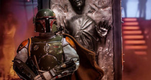 Iron Studios 电影 EP V – Boba Fett & Han Solo in Carbonite 1/10 比例全身雕像作品 (豪华版)