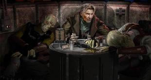 概念艺术图展示 Han Solo 如何在电影 EP VII 回归