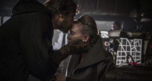 Mark Hamill 培白电影《 EP VIII》轻吻 Leia 的一幕