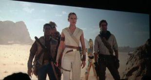 電影《EP IX》在 迪士尼博覽展 D23的新畫面