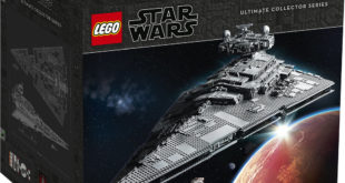 长达 1.1 公尺的巨兽星舰,重磅强袭! LEGO 75252 UCS 系列《星际大战》帝国灭星者战舰