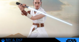 Hot Toys MMS559 – EP IX Rey and D-O 1/6比例珍藏人偶