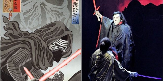結合日本傳統文化!一日限定《STAR WARS 歌舞伎》正式開演