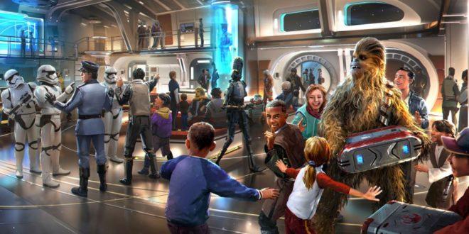 最新星战主题乐园设施:Star Wars: Galactic Starcruiser 开放预订