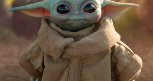 Sideshow Collectibles- 1:1 比例 Baby Yoda 雕像